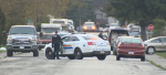 Comox Valley RCMP responded to the 2100-block of Tull Avenue after a person reported seeing a man with a gun. Apr. 22, 2017 (CTV Vancouver Island)
