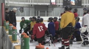 National deaf hockey team going for gold