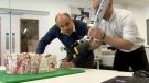 Reviving the Queen's wedding cake