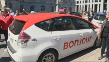Taxi bonjour
