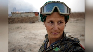 Hanna Bohman is seen in Syria in this undated photo. (Hannah Bohman)