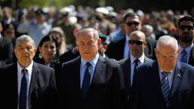 Israel marks Holocaust remembrance day with somber ceremony