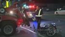 Motorcycle, crash, hit-and-run, Erskine