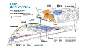 The Jean Drapeau Park society announced multiple changes for summer concerts and cycle routes in 2017