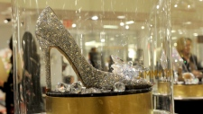 A Jimmy Choo shoe