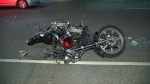 hit and run, Erskine, motorcycle