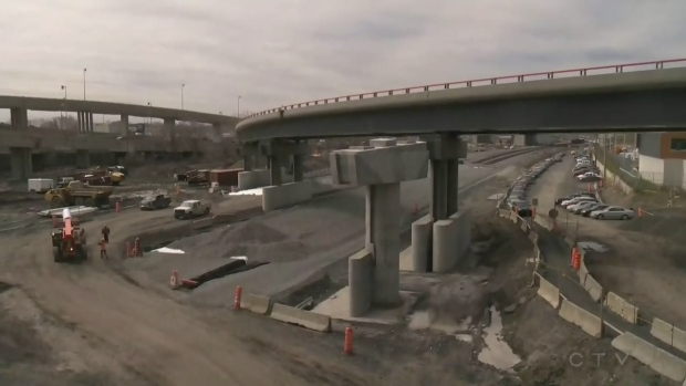 Weekend roadwork: some ramp closures on the Turcot interchange, but only overnight Friday