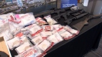 Working with several other forces, New Westminster police seized fentanyl-laced heroin and pure fentanyl, as well as firearms, replica firearms, vehicles and cash.