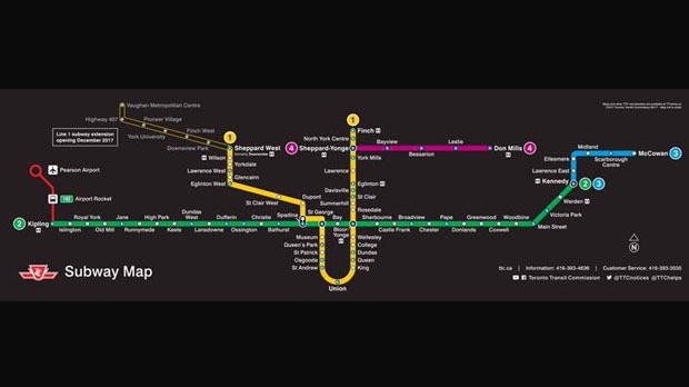 Trc Subway Map