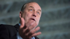 B.C. Green Party leader Andrew Weaver addresses the media during a news conference in Vancouver, B.C., Monday, April 24, 2017. THE CANADIAN PRESS/Jonathan Hayward