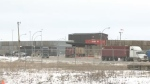 CP Rail's intermodal facility at Regina's Global Transportation Hub is seen in this undated file photo.