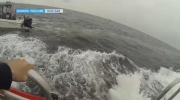 Dramatic rescue filmed off Vancouver Island