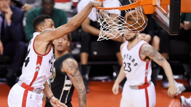 Milwaukee Bucks at Toronto Raptors