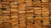 A stack of western red cedar wood is seen at CedarLine Industries in Surrey, B.C., on Monday April 24, 2017. THE CANADIAN PRESS/Darryl Dyck