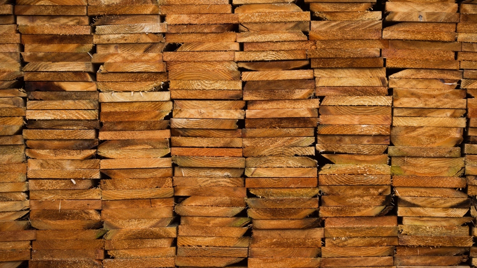 A stack of western red cedar wood is seen at CedarLine Industries in Surrey, B.C., on Monday April 24, 2017. (Darryl Dyck / THE CANADIAN PRESS)