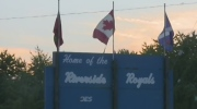 Riverside Royals sign in Windsor, Ont, on Monday, April 24, 2017. (Rich Garton / CTV Windsor)