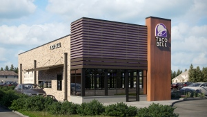 Taco Bell's new store concept is shown in this handout photo. (CNW Group/Taco Bell Canada)