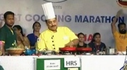 Chef sets world record, cooking for 53 hours stra