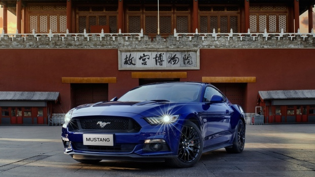 Ford Mustang in China. (The Ford Motor Company)