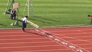 Extended: 101-year-old wins 100 metre Gold