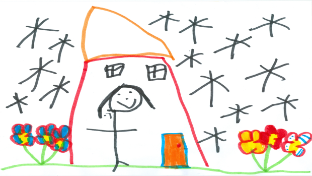 Avery Nesbitt, 5 years old, SK, Roberta Bondar Public School