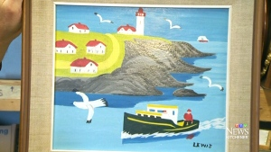 Maud Lewis painting breaks bidding record