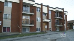 Air quality tests continue today after residents inside an Arthur Builes Road apartment became sick last night.