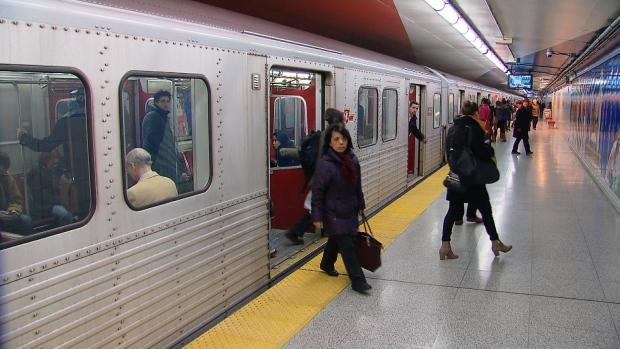 TTC, air quality, subway