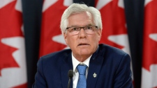 Minister of Natural Resources Jim Carr in Ottawa