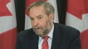 CTV News Channel: 'Far from reassuring': Mulcair