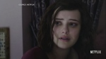 "A shot from Netflix's ""13 Reasons Why."" Hannah Baker, played by Katherine Langford, is pictured here. (Netflix)"