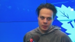 Auston Matthews on post-season plans