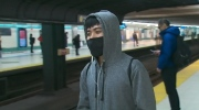 medical masks used on TTC to fight air pollution