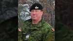 Sgt. Robert J. Dynerowicz from the Royal Canadian Dragoons, based at CFB Petawawa in Ontario, is shown in this handout image.