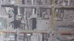 The proposed alternate 'loop' for BRT in the downtown core as presented by city engineers on Tuesday, April 25, 2017. (Daryl Newcombe / CTV London)