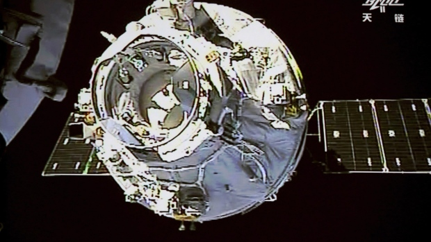 China's Tianzhou-1 cargo spacecraft