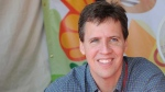 This April 21, 2012 file photo shows Jeff Kinney at the LA Times Festival of Books in Los Angeles.(AP Photo/Katy Winn, File)