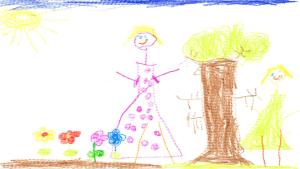 Hailey Richards, 5 years old, Senior Kindergarten, R. Tair McKenzie School
