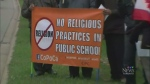 Parents protest religious policy Peel School Board