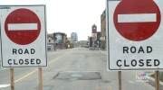 Construction until November in uptown Waterloo
