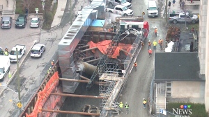 CTV Ottawa: LRT crane collapse