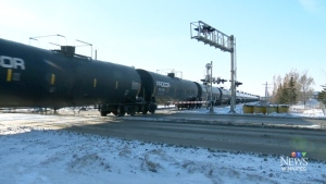 According to the city, when the underpass is completed, it will eliminate a significant point of congestion and delay at what is one the busiest at-grade rail crossings in Canada.
