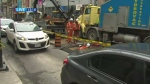 gas leak Yonge and Queen streets