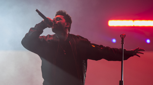 Canadian superstar The Weeknd plays a sold-out show at Rogers Arena for his 'Starboy: Legend of the Fall' tour. April 25, 2017. (CTV/Anil Sharma)