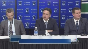 It's official: Travis Green to coach Canucks