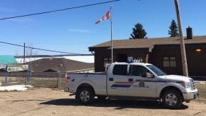 Pinehouse Lake RCMP detachment. (RCMP handout)