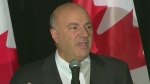 CTV Atlantic: O'Leary drops out