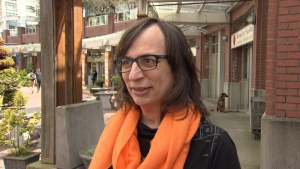 Morgane Oger, a trans-rights activist, is pictured in this file photo (CTV)