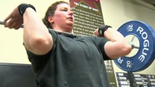 Lifting weights and helping kids makes Shellen Thomas our Inspiring Albertan.