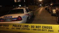 Police are investigating a shooting in Parkdale that sent one male to hospital with non-life-threatening injuries.